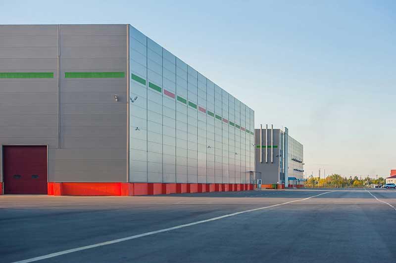 Große moderne Halle