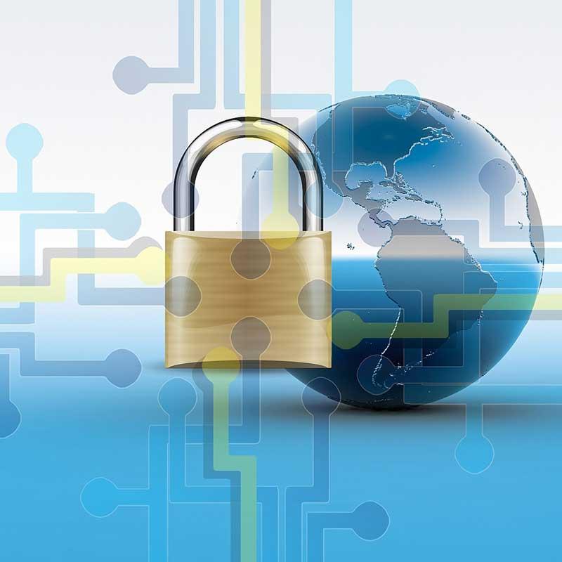 Security Welt Vorhängeschloss